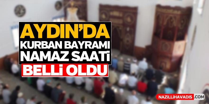 Aydın'da namaz saati belli oldu