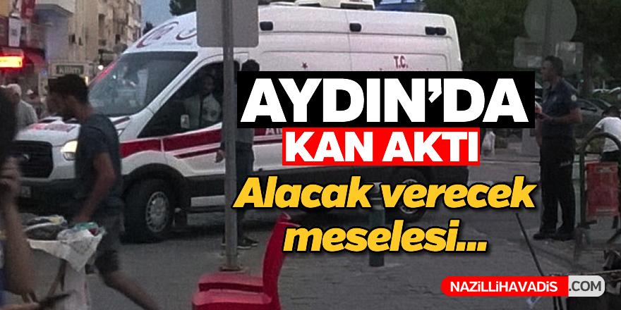 Aydın'da silahlı yaralama