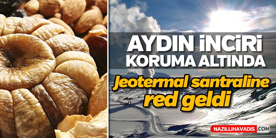 Aydın inciri için jeotermal santraline ÇED iptali