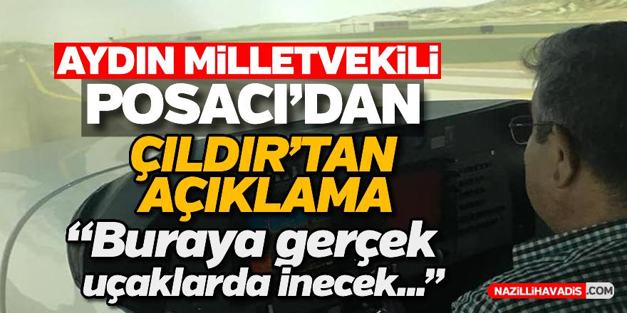 Milletvekili Posacı'dan 'Çıldır'tan açıklama
