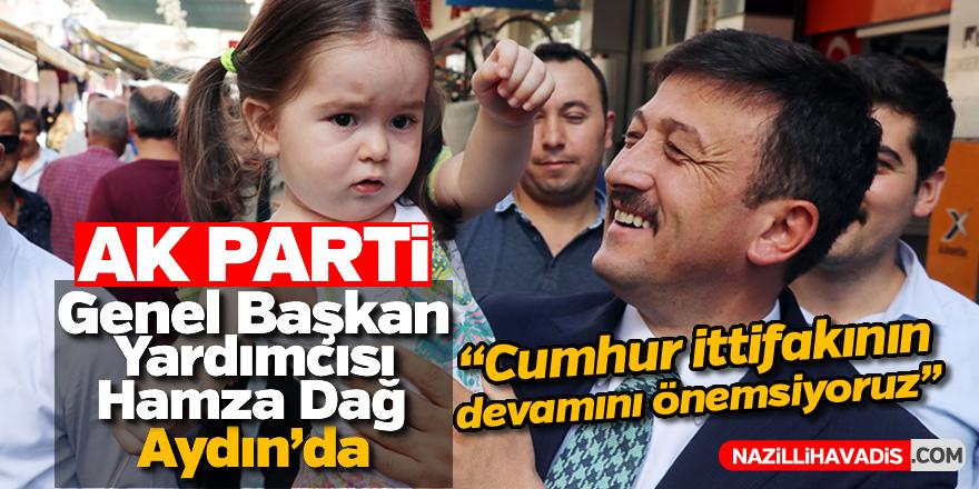 AK Parti Genel Başkan Yardımcısı Dağ, Aydın'da