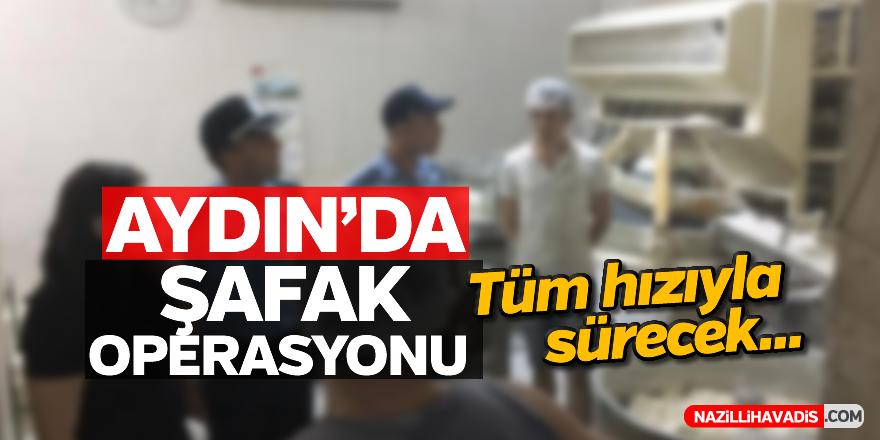 Aydın'da şafak operasyonu
