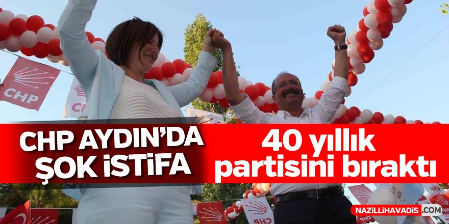 CHP Aydın'da şok istifa!