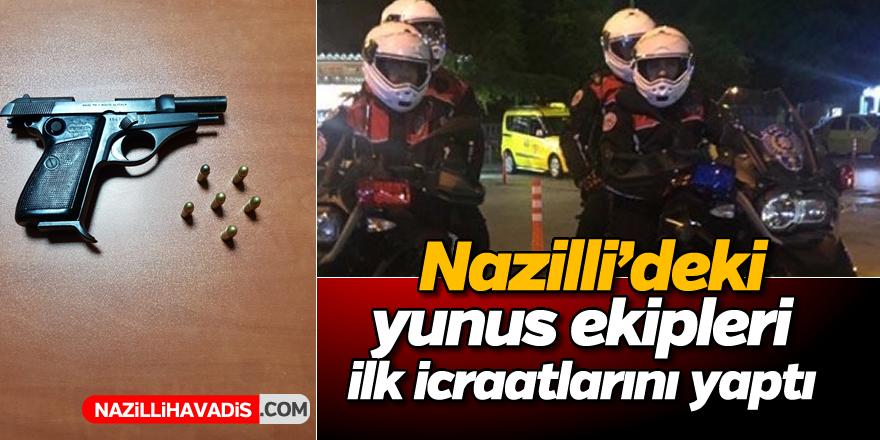 Nazilli'de yunus ekipleri ilk icraatını yaptı
