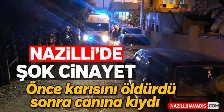 Nazilli'de şok cinayet; 2 ölü