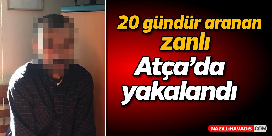 20 gündür aranan zanlı Atça'da yakalandı