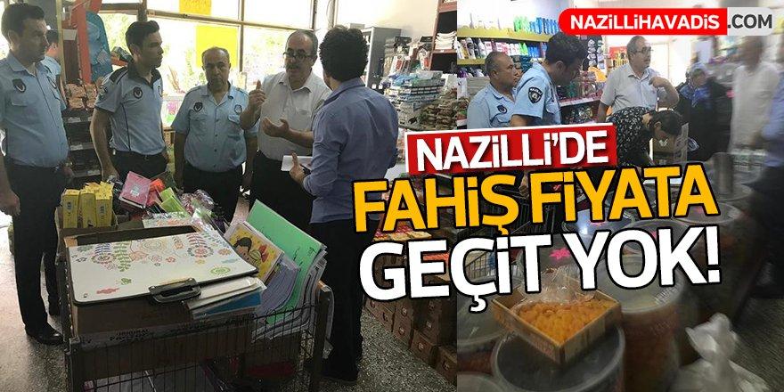 Nazilli'de fahiş fiyata geçit yok