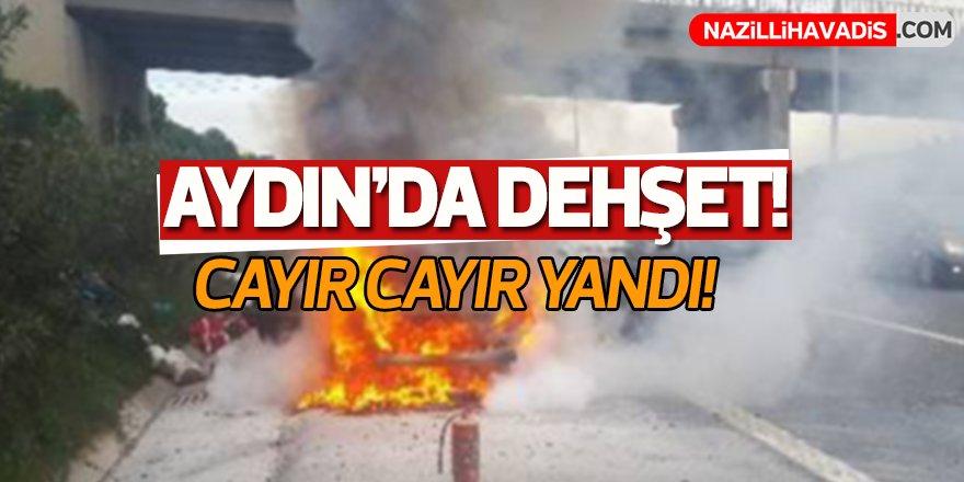 Aydın'da dehşet!
