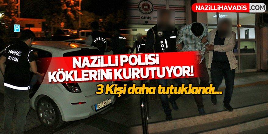 Nazilli Polisi köklerini kurutuyor!