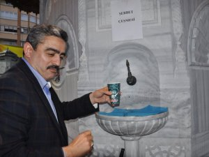 Mevlid Kandili'nde Çeşmelerden Şerbet Aktı