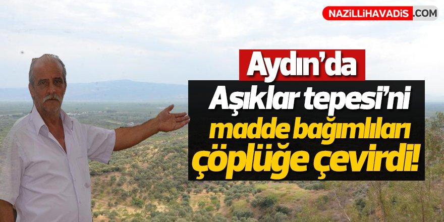 Aydın'da Doğa Harikasını Çöplüğe Çevirdiler!