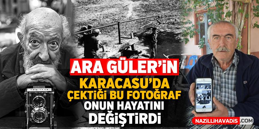 Ara Güler'in Karacasu'da çektiği bu fotoğraf onun hayatını değiştirdi