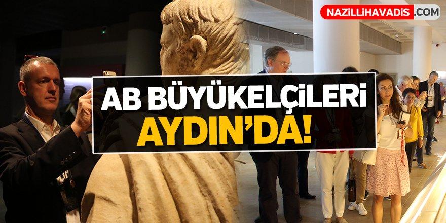 AB büyükelçileri Aydın'da!