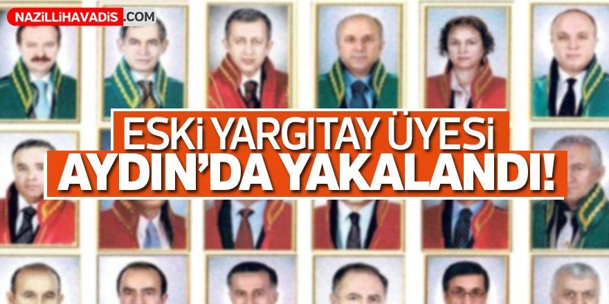 Firari eski Yargıtay üyesi Aydoğdu Aydın'da yakalandı!
