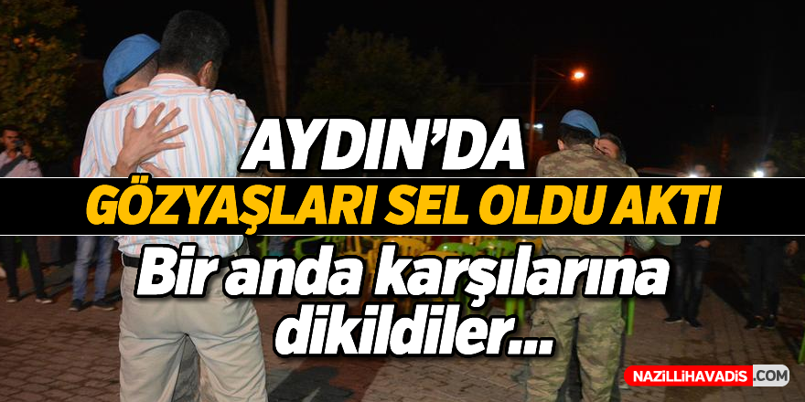 Aydın'da gözyaşları sel oldu aktı