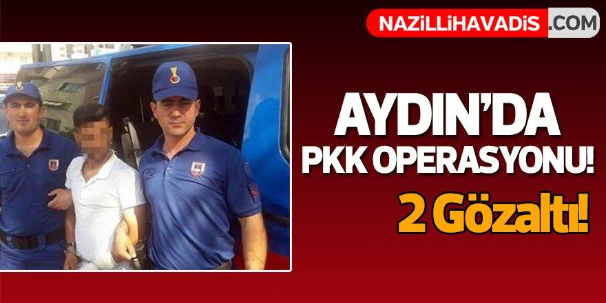 Aydın'da PKK operasyonu!