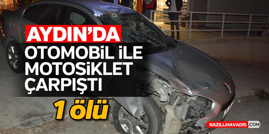Aydın'da trafik kazası: 1 ölü
