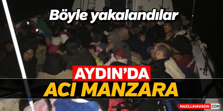 Aydın'da acı manzara
