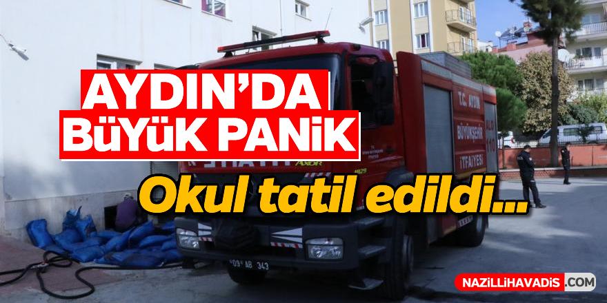 Aydın'da büyük panik!