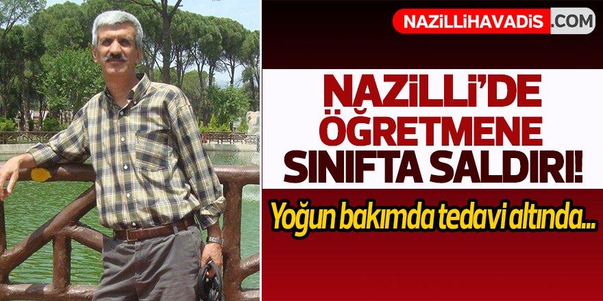 Nazilli'de öğretmene saldırı!