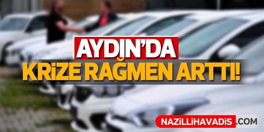 Aydın'da krize rağmen arttı!
