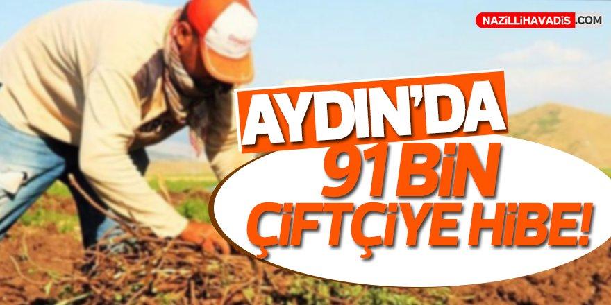 Aydın'da 91 çiftçiye hibe