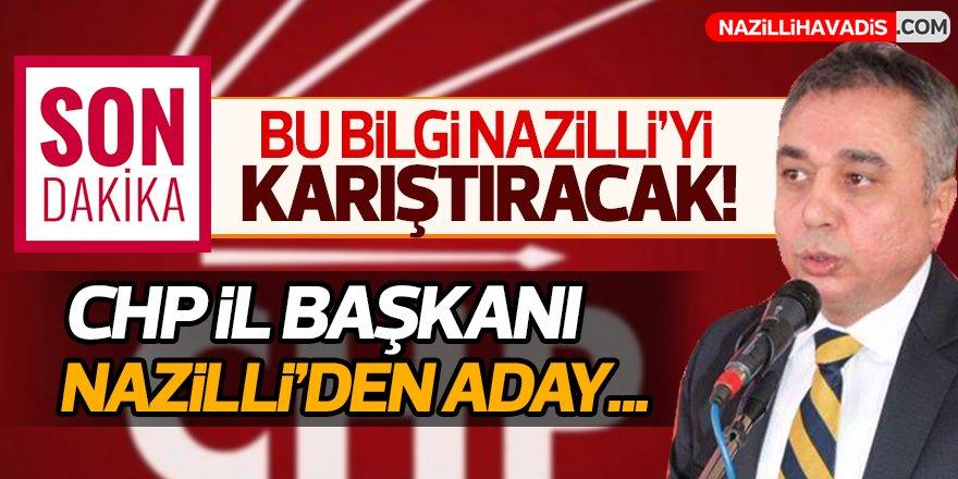 """CHP Nazilli'de """"Ali Çankır"""" sesleri!"""