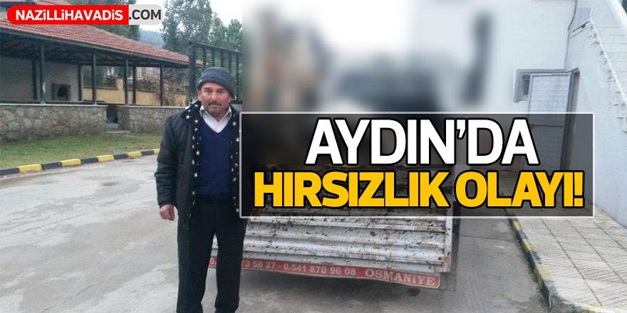 Aydın'da Hırsızlık Olayı!