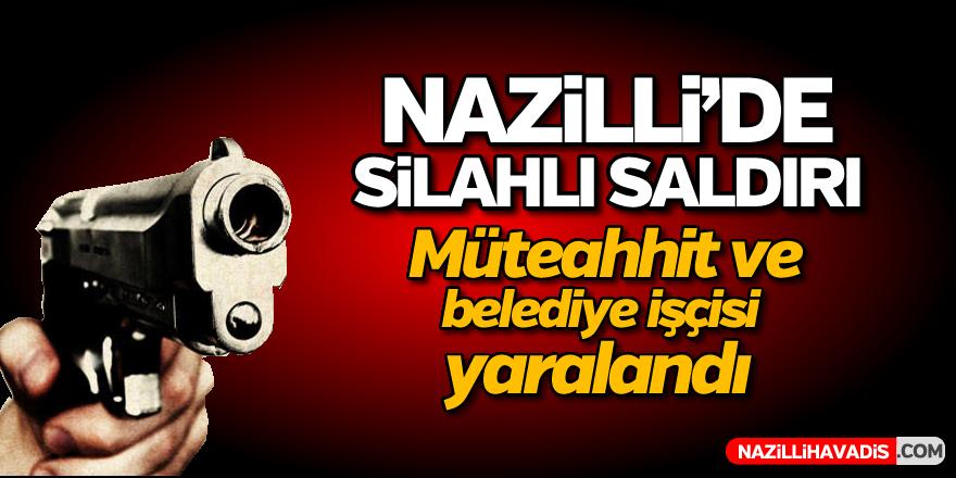 Nazilli'de silah sesleri yükseldi; 2 yaralı