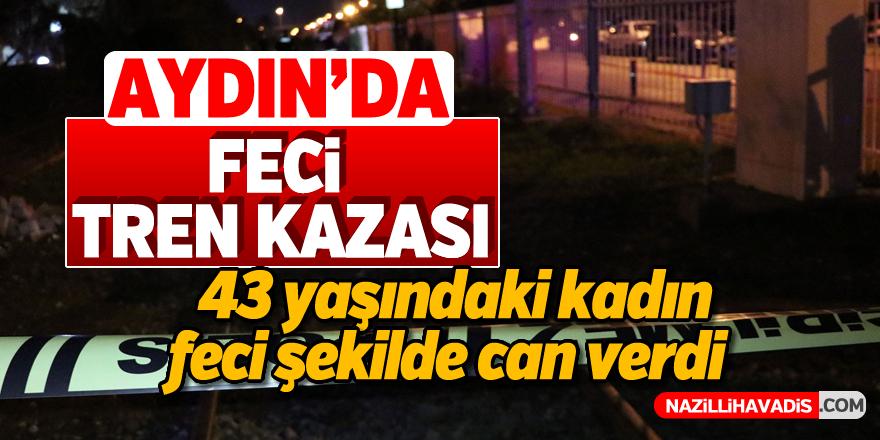 Aydın'da feci tren kazası