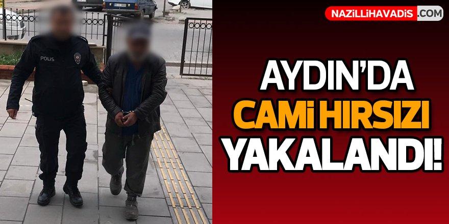 Aydın'da Cami Hırsızı  Yakalandı!