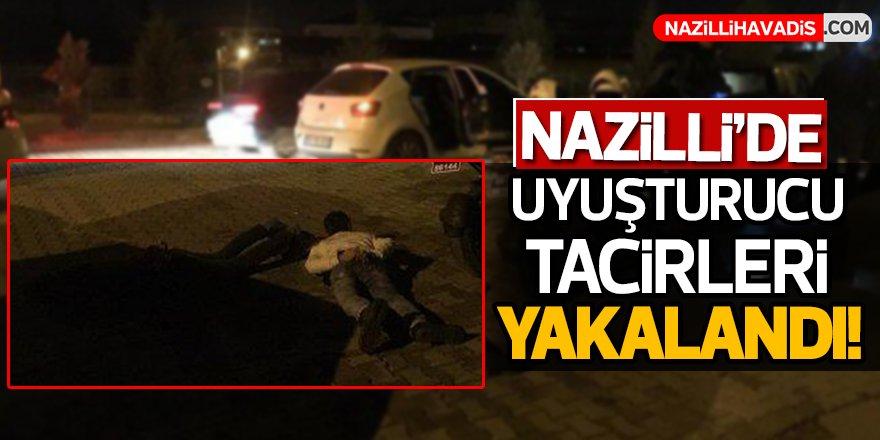 Nazilli'de Uyuşturucu Tacirleri Yakalandı!