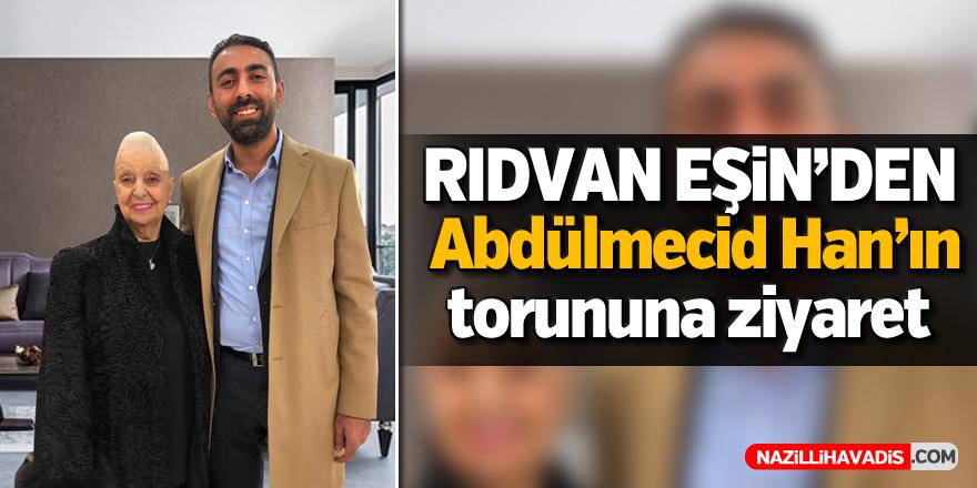 AK Partili Eşin'den Abdülmecid Han'ın torununa ziyaret