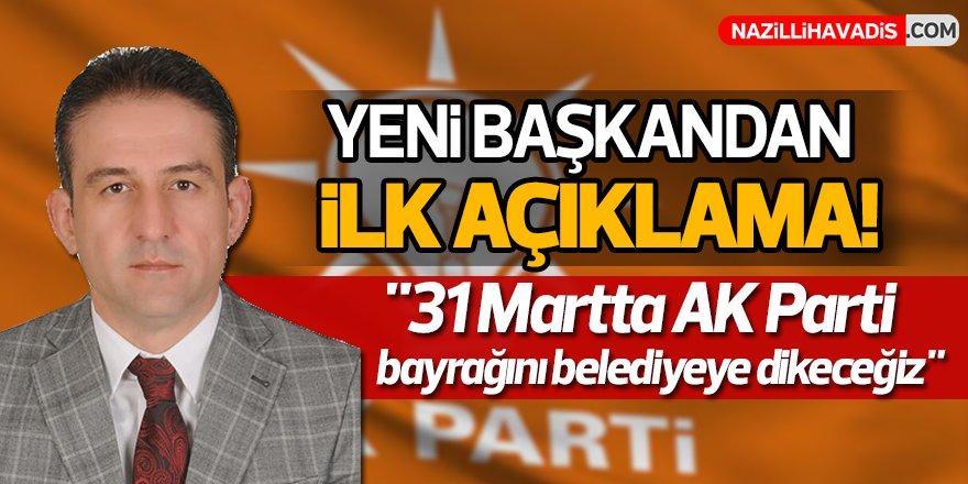 AK Parti'nin Yeni Başkanı İddialı Konuştu!