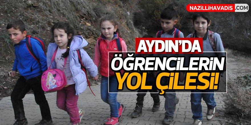 Aydın'da öğrencilerin yol çilesi