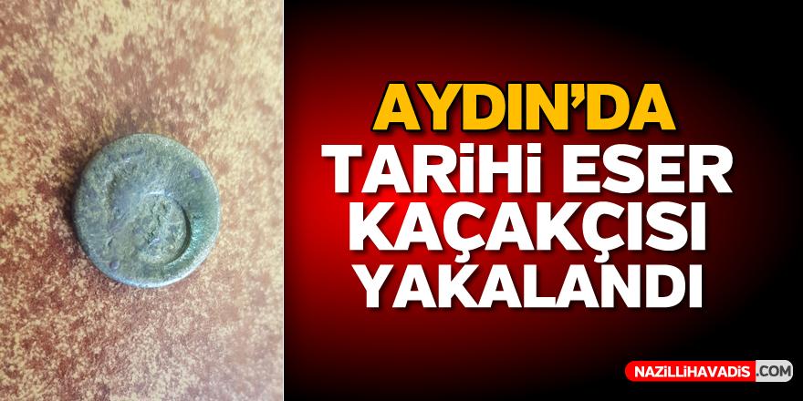 Aydın'da tarihi eser kaçakçısı yakalandı
