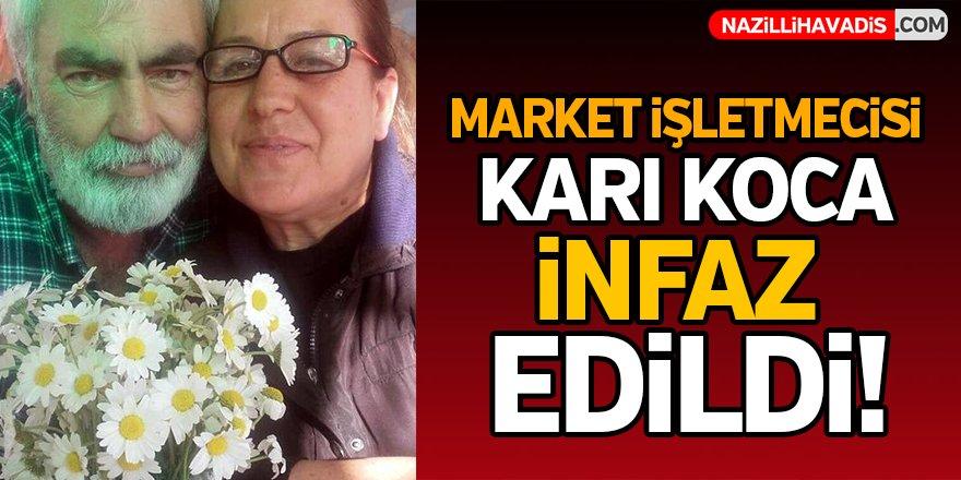Market işletmecisi  karı koca infaz edildi