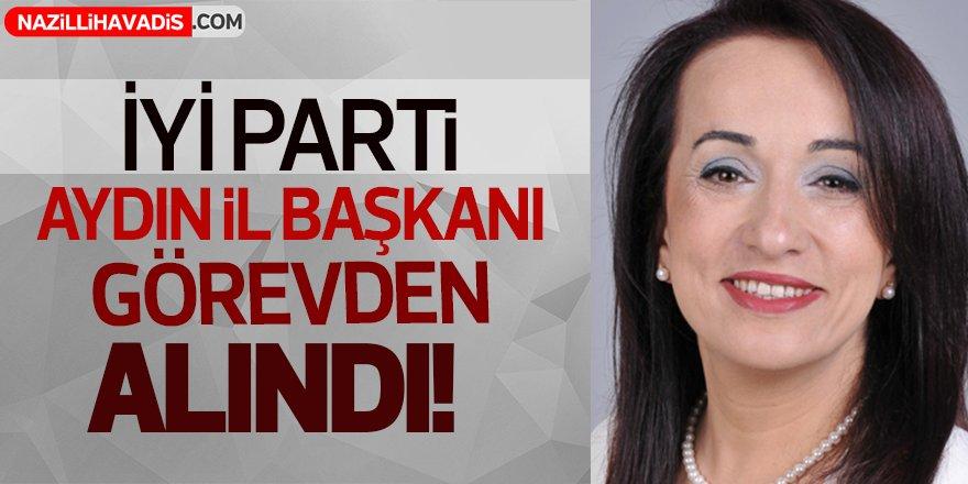 İYİ Parti Aydın İl Başkanı görevden alındı