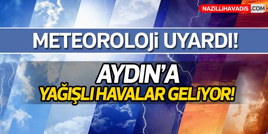 Aydın'da soğuk hava yerini yağışlara bırakacak
