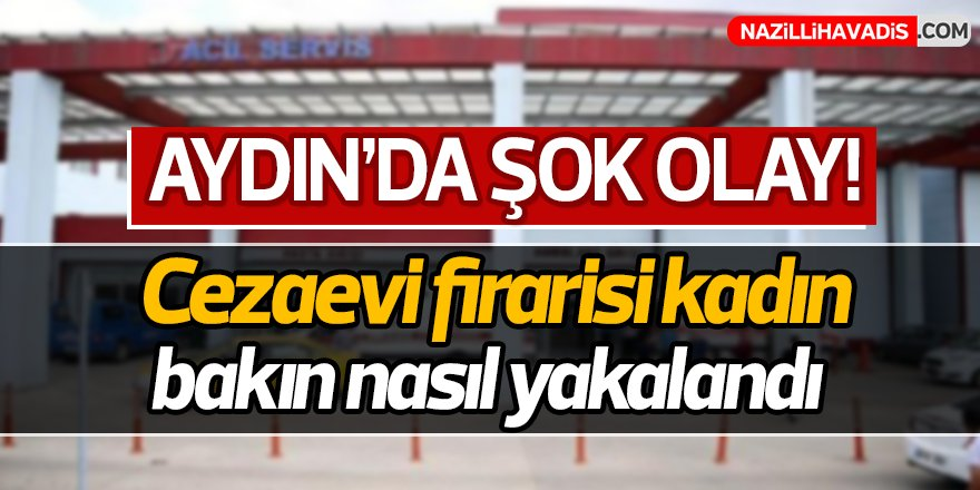 Aydın'da Şok Olay!