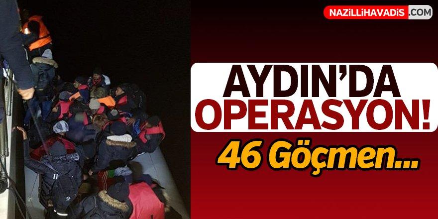 Aydın'da 46 düzensiz göçmen yakalandı