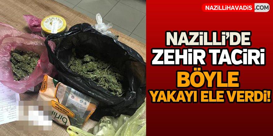 Nazilli'de Zehir Taciri Böyle Yakayı Ele Verdi!