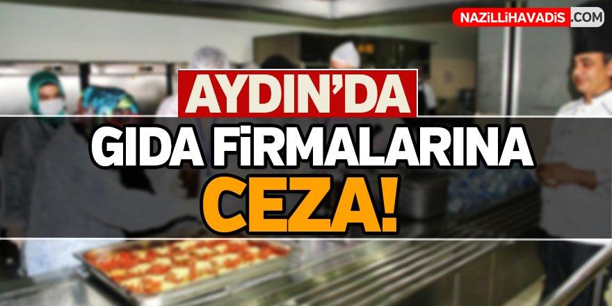 Aydın'da Gıda Firmalarına Ceza!