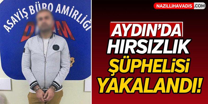 Aydın'da hırsızlık şüphelisi yakalandı!