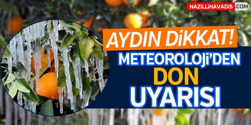 Meteoroloji'den don uyarısı!