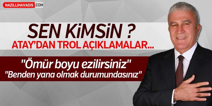 Belediye Başkan adayı  Fatih Atay'dan trol açıklamalar!