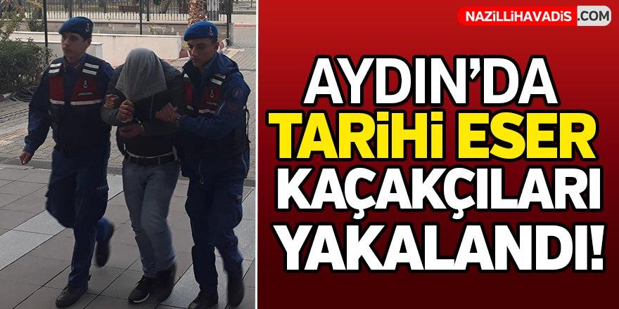 Aydın'da tarihi eser kaçakçıları yakalandı