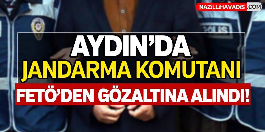Aydın'da Jandarma Komutanına FETÖ'den Gözaltı!