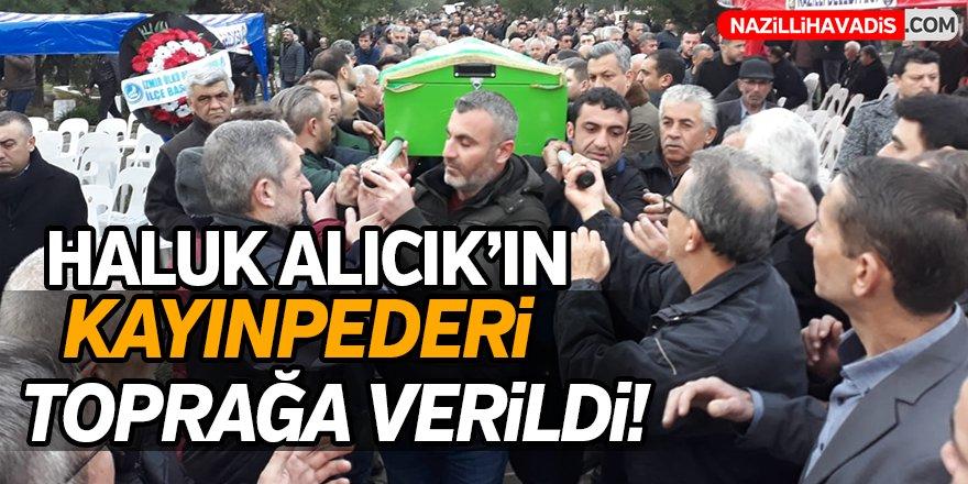 Başkan Alıcık'ın Kayınpederi Toprağa Verildi!