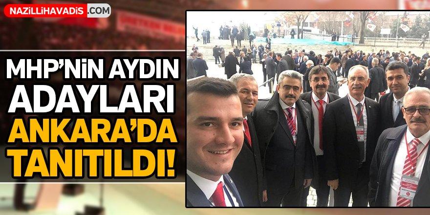 MHP'nin Aydın Adayları Ankara'da Tanıtıldı!